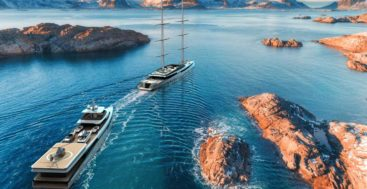 Lotus is a two superyacht package from Royal Huisman