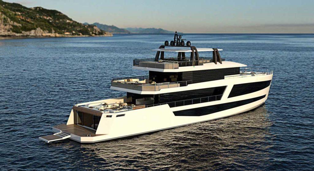the Sundeck Yachts 38M megayacht