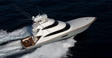 the Viking 92 Convertible megayacht could stop production due to emissions regulations