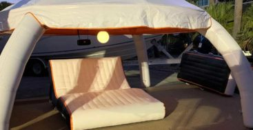 AquaBanas makes inflatable items that superyachts can use