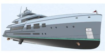 the DLBA Naval Architects hybrid 45 explorer is a true oceangoing exploration megayacht