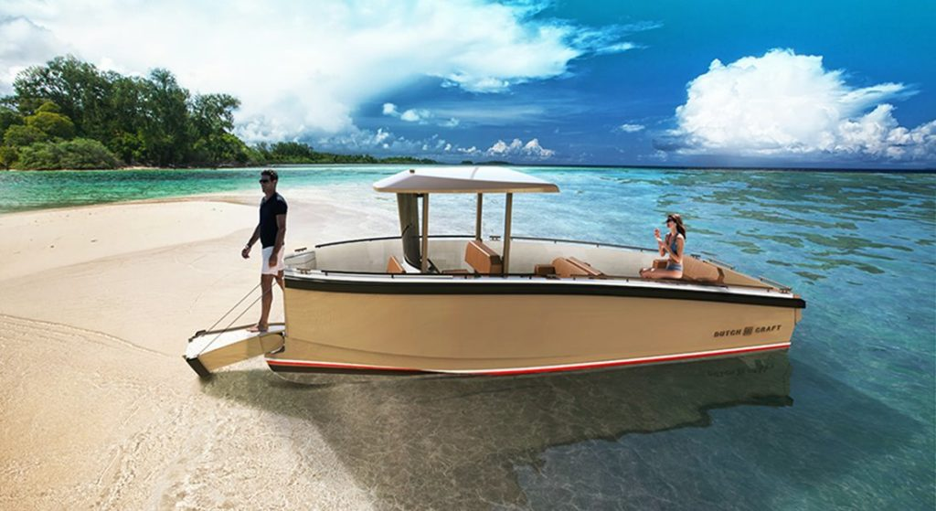 the DutchCraft 25 superyacht tender debuts in 2020