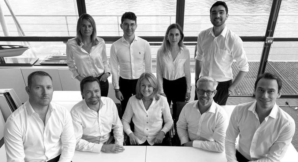 the Harrison Eidsgaard superyacht design studio team includes Ben Harrison