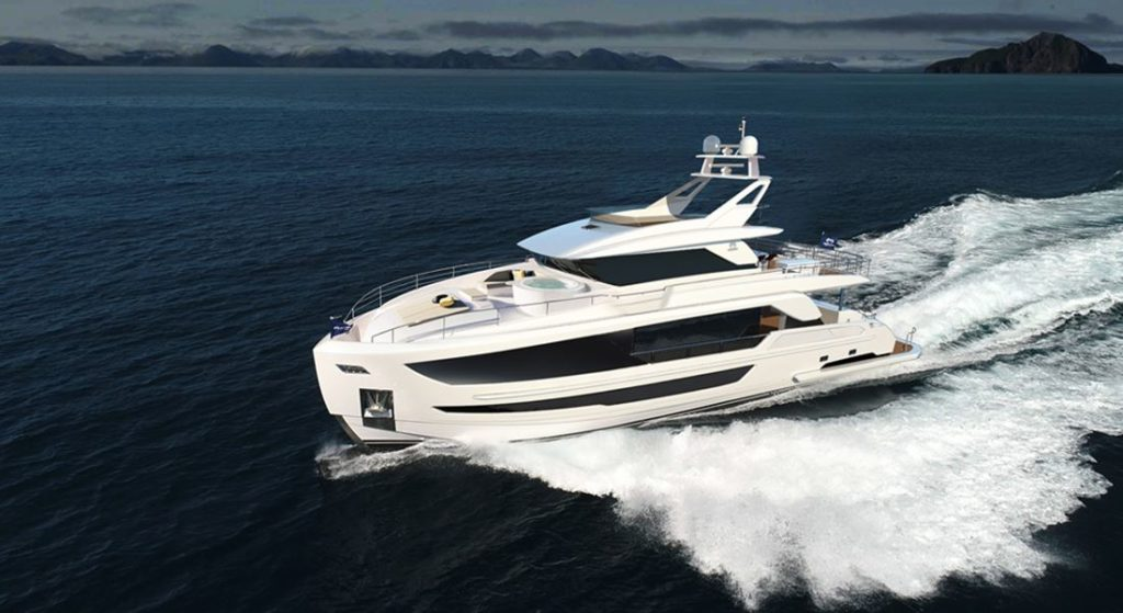 the Horizon FD92 megayacht joins a successful series