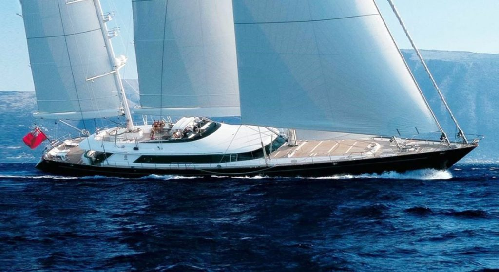 Parsifall III is the superyacht in Below Deck Sailing Yacht