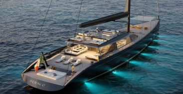 the 47M E-volution is the latest sailing superyacht sold by Perini Navi