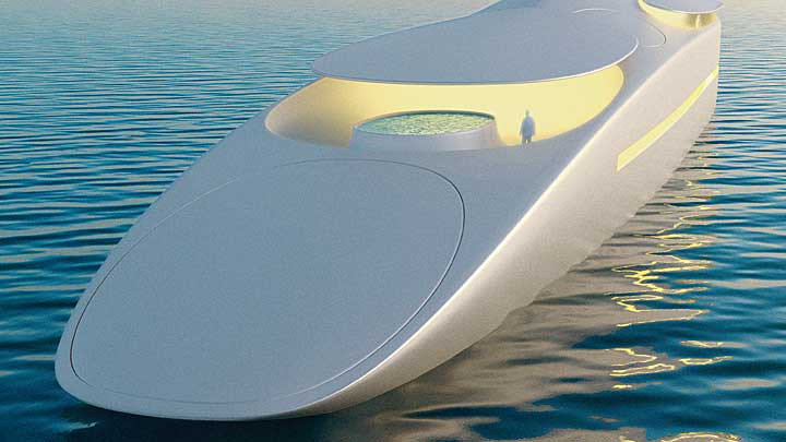 Thierry Gaugain's first solo superyacht design is Project L