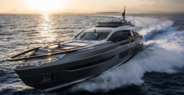 the Azimut Grande S10 megayacht is the Azimut flagship