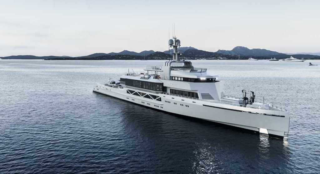 Bold is among the superyachts attending the Miami Yacht Show in 2020