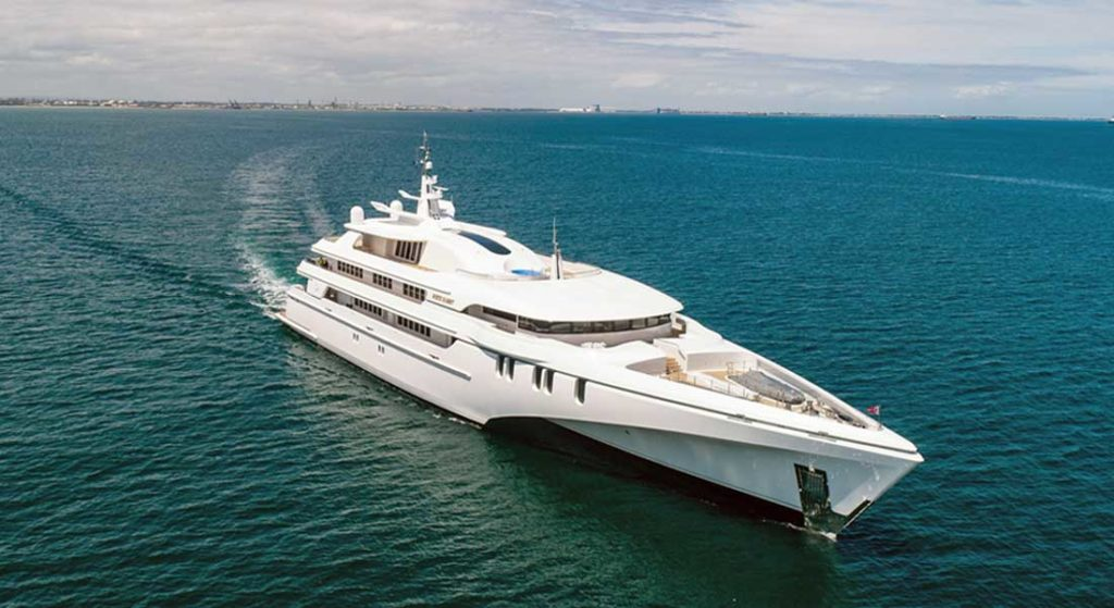 Echo Yachts is becoming an eco-only superyacht builder due to its experience with White Rabbit