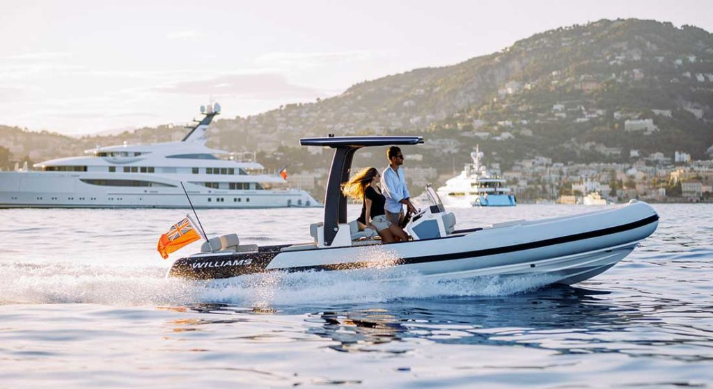 the Evojet 70 is tailor made for megayachts by Williams Jet Tenders