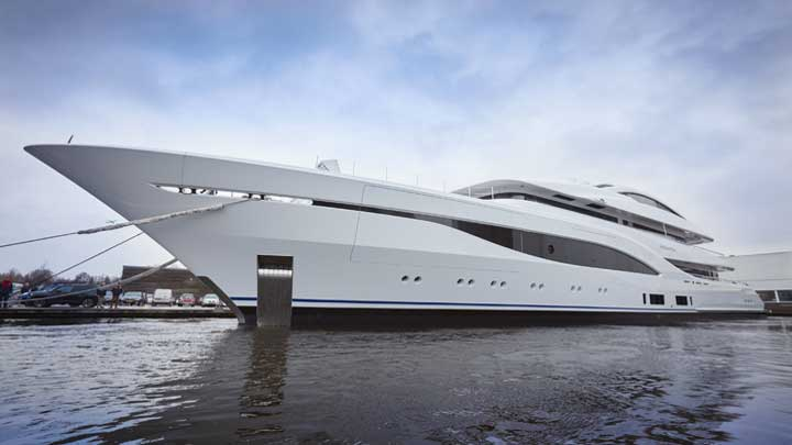 Feadship Project 703 is a 75-meter megayacht