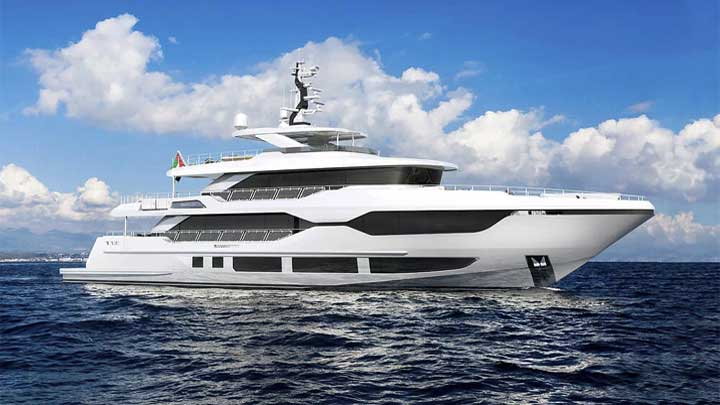 the Majesty 120 megayacht is coming in 2020