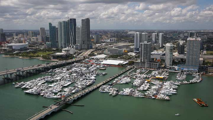 Bold is among the megayachts on display at the upcoming Miami Yacht Show