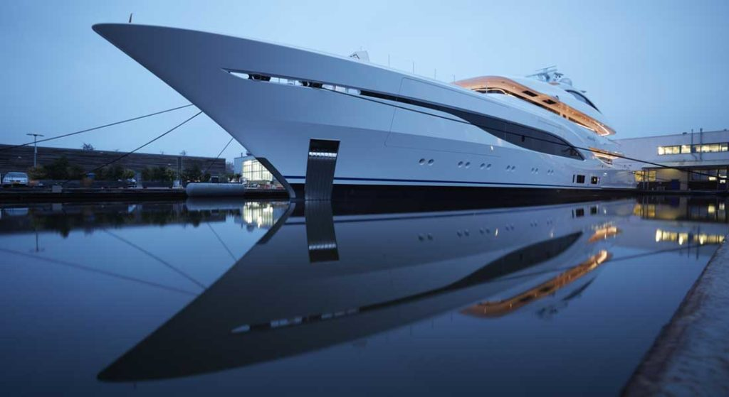 the Feadship Arrow is among the most anticipated megayacht deliveries of 2020