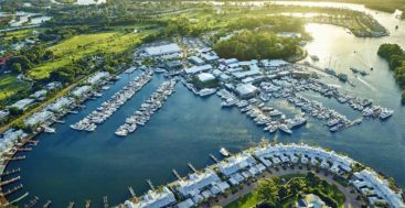 the Sanctuary Cove Marina is investing in more berths for yachts and superyachts
