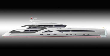 the Shotel superyacht concept is by Ivan Erdevicki