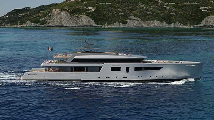 the Tankoa TLV62 megayacht concept by Luca Vallebona