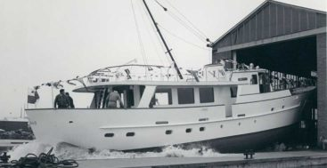 70 years of feadship history includes the megayacht Olympia
