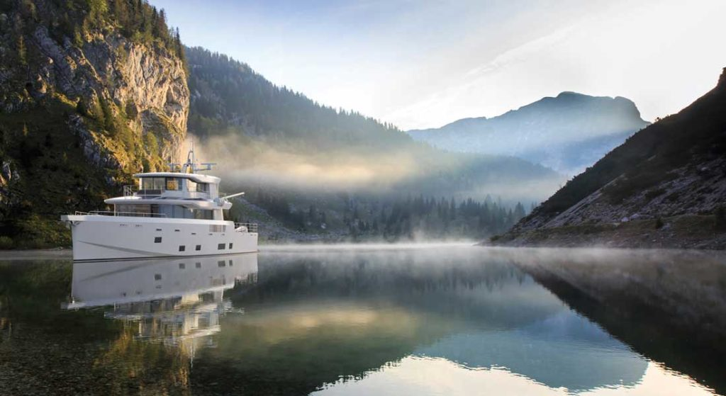 the Arksen Adventure Syndicate will see an Arksen 85 megayacht under a shared ownership program for global travels