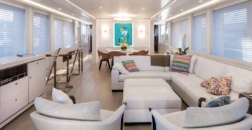 Vanadis is the first hybrid megayacht from CCN