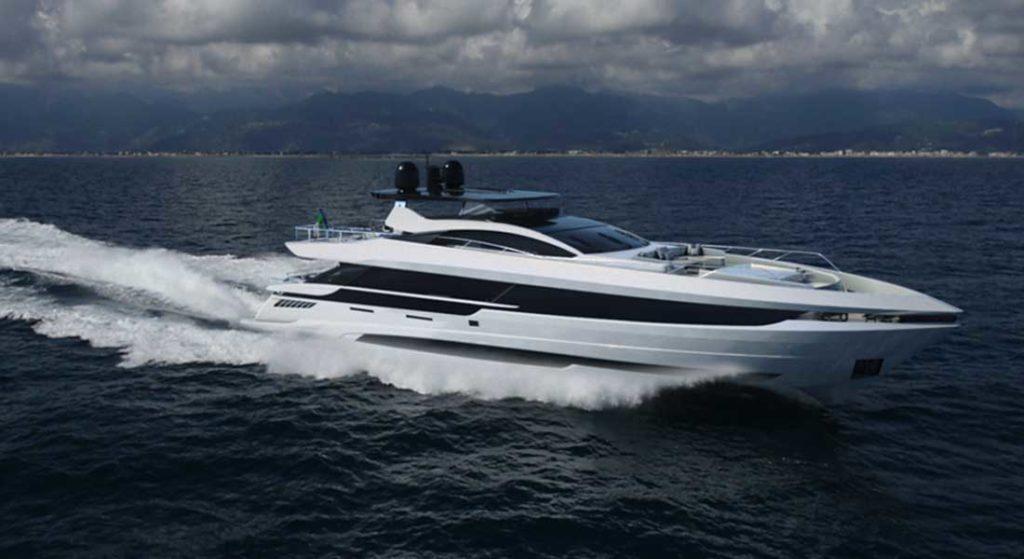 Mangusta GranSport 33 megayacht coming in 2020