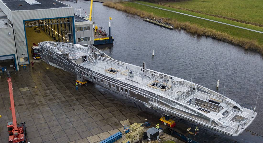 WATCH: Project Phi Progress at Royal Huisman