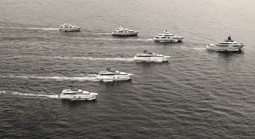 the new Sanlorenzo High-End Services fleet covers charter, crew training, and more for its superyacht customers