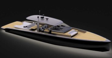 the Windy SLR 60 is a superyacht chase boat