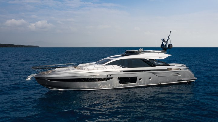 the Azimut S8 is among the megayachts making their American debuts at Superyacht Miami and the Miami Yacht Show 2020