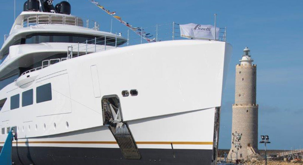Alkhor is the name of the Benetti megayacht with hull number FB273