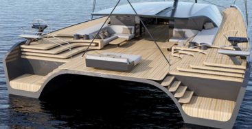 the BlackCat 30 is to be built for BlackCat Superyachts at McConaghy Boats
