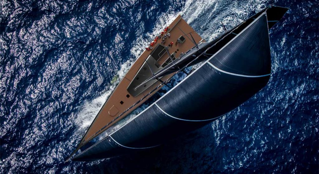 the ClubSwan 125 could be part of America's growing importance to Nautor's Swan, in the superyacht sector