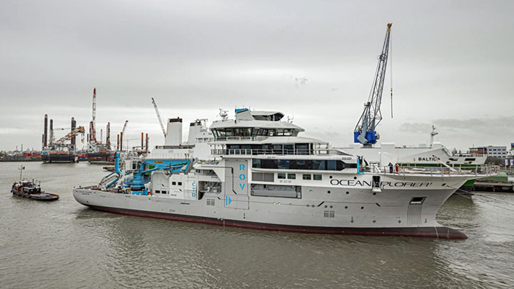 Damen Shiprepair & Conversion launched OceanXplorer, which combines superyacht luxury with scientific and research labs