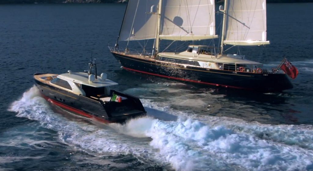 the Perini Navi Eco Tender is a megayacht in her own right