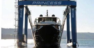 the Princess X95 is the first megayacht in the X Series