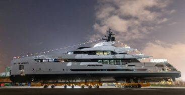 Rossinavii launched the megayacht Lel the last day of January 2020