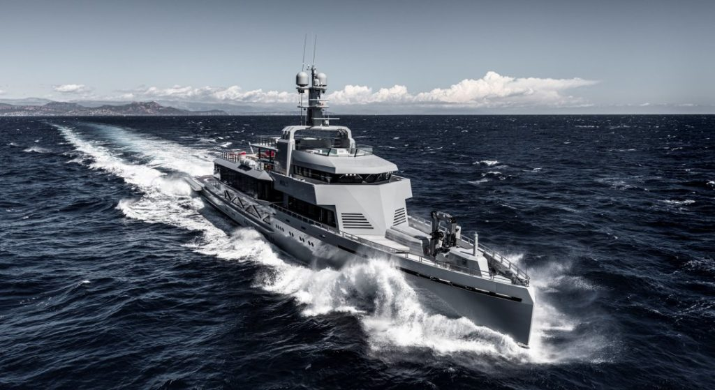 Bold is among the megayachts making their American debuts at Superyacht Miami 2020