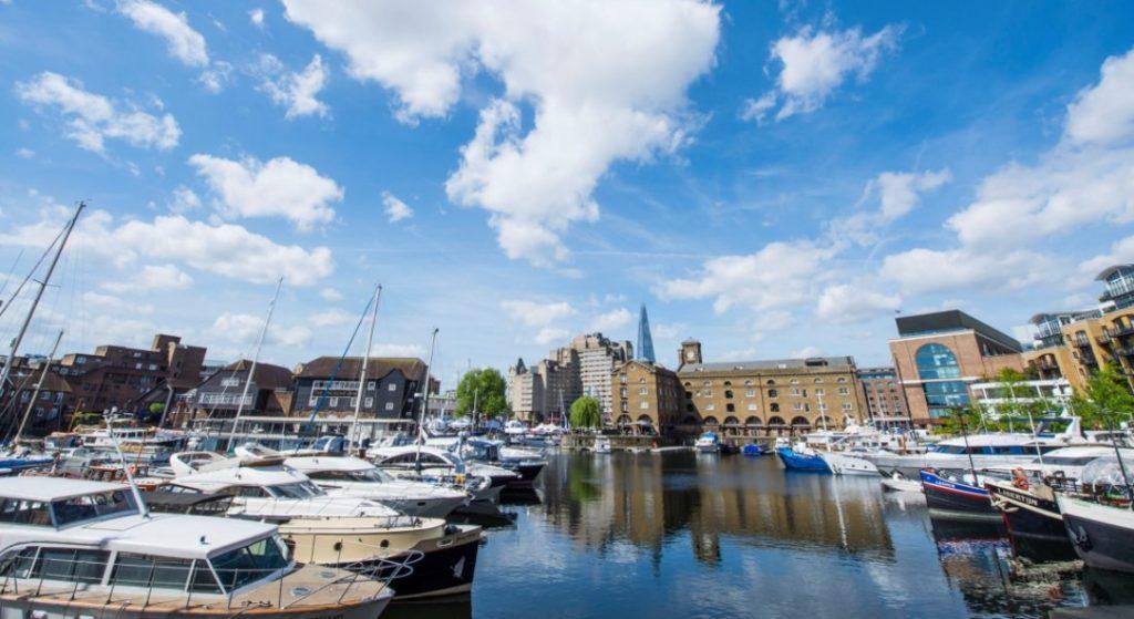 St. Katharine Docks Marina in London now belongs to the IGY Marinas network of megayacht marinas