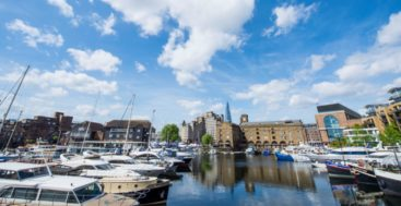 St. Katharine Docks Marina in London now belongs to the IGY Marinas network of megayacht marinas