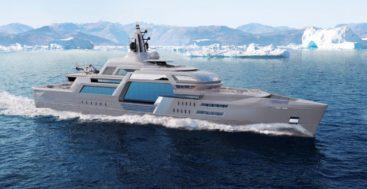 Stormbreaker is a megayacht design concept ready to build