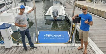 Safe Harbor Marinas and 4ocean are cleaning up plastic at megayacht marinas