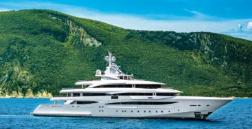 this 79-meter is among the megayachts from CRN shipyard