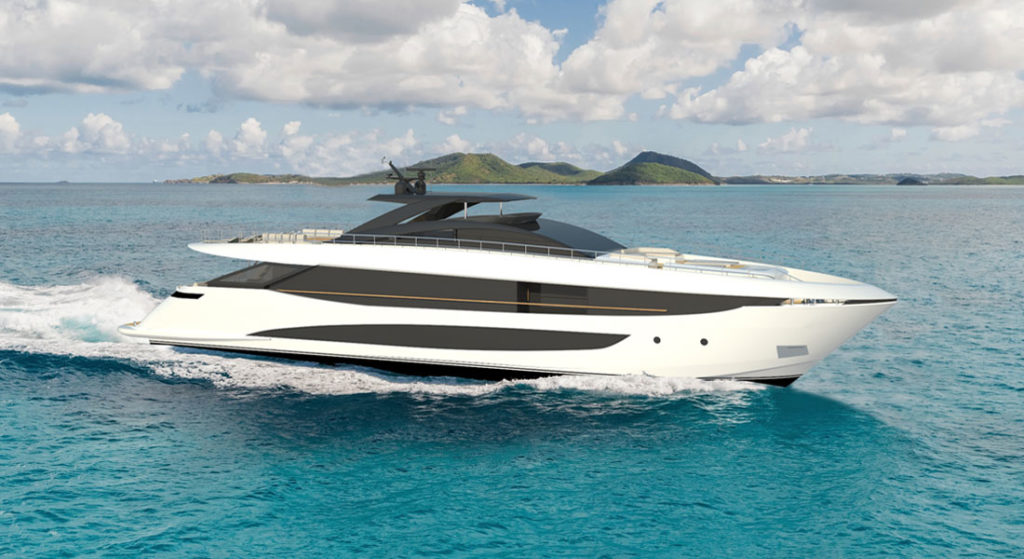 the Amer 120 is the new flagship superyacht for Amer Yachts