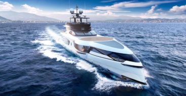 the Dynamiq GTT 160 megayacht prioritizes comfort and efficiency