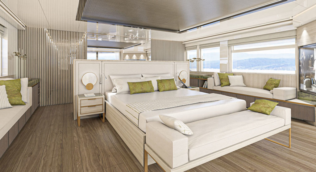 New Interior Options From Hot Lab for Numarine 32XP megayacht