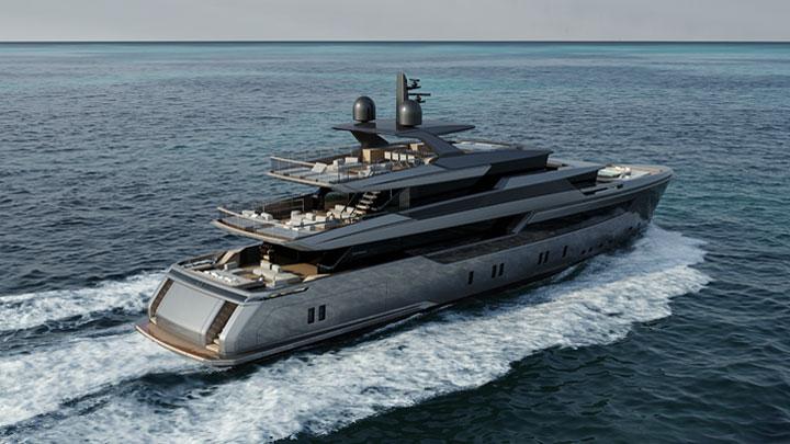 the Sanlorenzo 44 Alloy megayacht