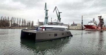 the Sunreef Otoctone 80 megayacht launched in March 2020