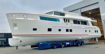 the Van der Valk Explorer megayacht Venera