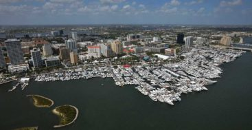 Rather than welcome visitors in person, the Palm Beach International Boat Show is going virtual., with yacht and megayacht views only online.